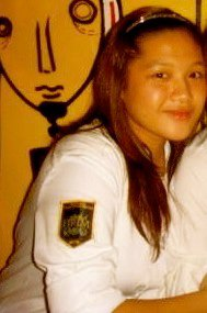 That's me wearing my Culinary Arts laboratory uniform